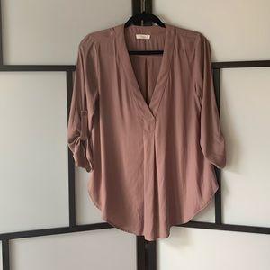 LUSH Women's 3/4 Sleeve Blouse